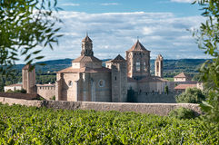 Monastery of Santa Maria De Poblet, Catalonia Royalty Free Stock Images