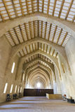 Monastery of Santa Maria de Poblet dormitories Royalty Free Stock Images