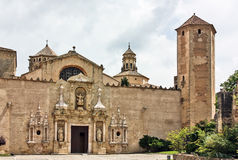 The Monastery of Santa Maria de Poblet,Spain Stock Images
