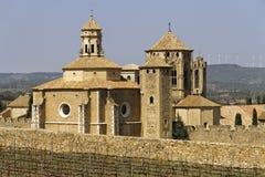 Monastery of Santa Maria de Poblet overview Stock Image