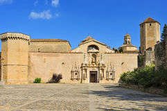 Monastery of Santa Maria de Poblet, Spain Royalty Free Stock Photo