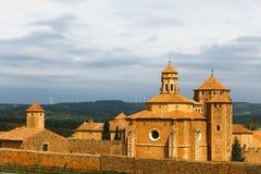 Monastery Santa Maria de Poblet Stock Image