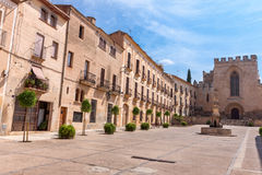 Monastery of Santa Maria de Santes Creus, Catalonia Royalty Free Stock Photo