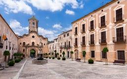 Monastery of Santa Maria de Santes Creus, Catalonia Stock Image