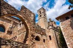 Monastery of Santa Maria de Santes Creus, Catalonia Stock Images
