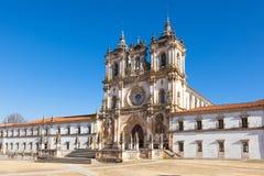 Mosteiro De Santa Maria, Alcobaca, Portugal Stock Photography