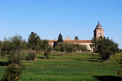 Monastery, Santiponce, Spain. Stock Photography