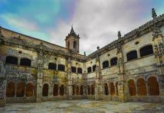 Monastery of Santo Estevo de Ribas de Sil in Galicia, Spain Stock Image