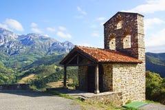 Monastery of Santo Toribio de Liebana. Stock Photography