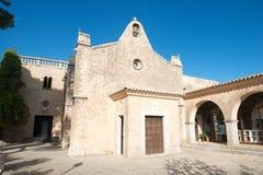 Monastery Santuari de Cura Stock Photo