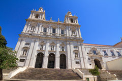 Monastery of Sao Vicente de Fora Stock Photos