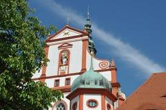 Monastery in Saxony Stock Image