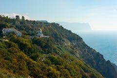 Monastery of the sea Stock Photos