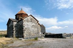 Monastery of Sevanavank Stock Photography