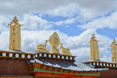 Monastery in Shangrila,Yunnan, China Royalty Free Stock Photos
