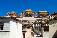 Monastery in Shangrila, Yunnan, China Stock Image