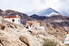 Monastery, Shey, Ladakh, India Royalty Free Stock Photo