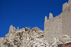 Monastery, Shey, Ladakh, India Royalty Free Stock Images
