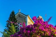 Monastery of Silence in Latrun Royalty Free Stock Photo