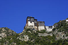 Monastery Simonopetra. A photo of Monastery Simonopetra, Mount Athos, Greece stock images
