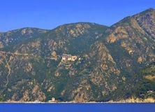 Monastery Simonopetra Mount Athos Greece Royalty Free Stock Photo
