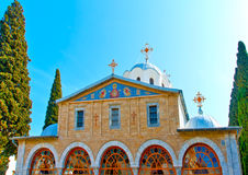 Monastery Skiti Timiou Prodromou Royalty Free Stock Photography
