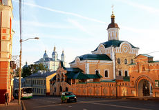 Monastery in Smolensk. Royalty Free Stock Image