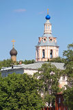 The monastery of St. Andrew, Moscow, Russia Royalty Free Stock Photo