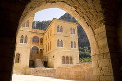 The Monastery of St Anthony of Qozhaya. In Lebanon Royalty Free Stock Images