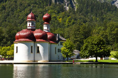 Monastery of St.Bartholomä Royalty Free Stock Images