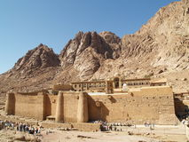 Monastery Of St. Catherine. View of old monastery of saint catherine sinai egypt Royalty Free Stock Image