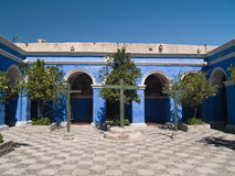 Monastery of St. Catherine. At Arequipa, Peru Royalty Free Stock Photo