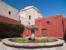 Monastery of St. Catherine. At Arequipa, Peru royalty free stock images