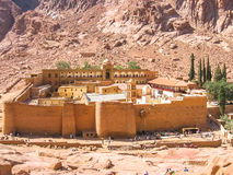 Monastery of St. Catherine Egypt Stock Images