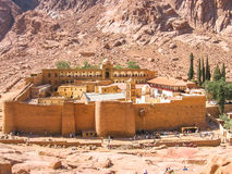 Monastery of St. Catherine Egypt Stock Image