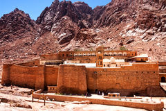 Monastery of St. Catherine. Royalty Free Stock Photo