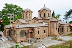 Monastery of St. Dionysios Royalty Free Stock Photo
