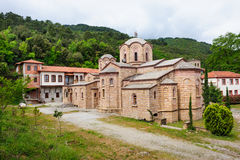 Monastery of St. Dionysios Royalty Free Stock Image