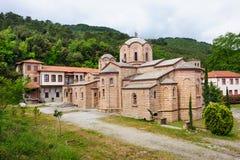 Monastery of St. Dionysios Royalty Free Stock Image