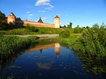 Monastery of St. Euthymius at Suzdal Stock Images