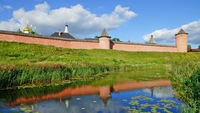 Monastery of St. Euthymius at Suzdal, Russia Stock Photo