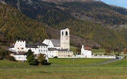 Monastery St. John in Mustair royalty free stock photo