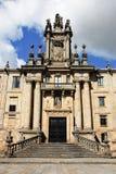 Monastery of St. Martin Pinario, Santiago. De Compostela, Galicia stock photo