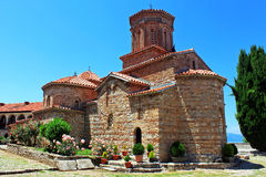 The monastery of St  Naum, Ohrid, Macedonia Stock Images
