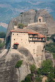Monastery of St. Nicholas Anapafsas in Meteora, Greece Royalty Free Stock Photo