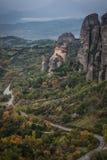Monastery of St. Nikolas in Meteora, Greece Royalty Free Stock Image