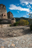 Monastery of St. Nikolas in Meteora, Greece Royalty Free Stock Images