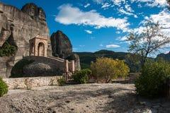 Monastery of St. Nikolas in Meteora, Greece Stock Images