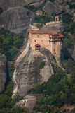 Monastery of St. Nikolas in Meteora, Greece Royalty Free Stock Photography