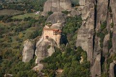 Monastery of St. Nikolas in Meteora, Greece Royalty Free Stock Photos